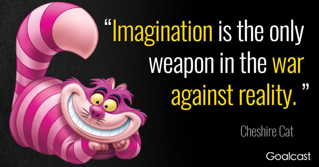 Alice in Wonderland Quotes on Imagination and Life