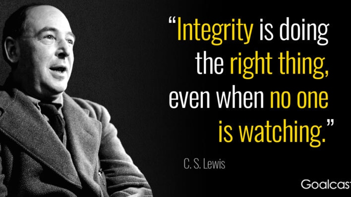 cs-lewis-quote-integrity-doing-right-thing-no-one-watching