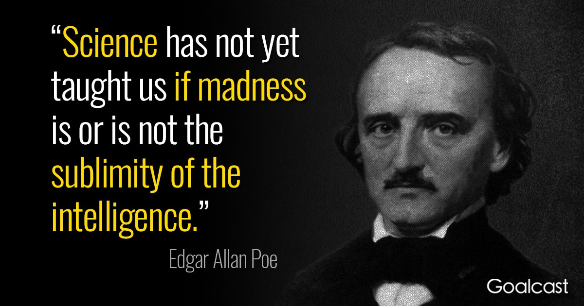 Edgar Allan Poe Quotes Amazing 48 Edgar Allan Poe Quotes To Impress The Mind