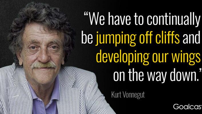 kurt-vonnegut-quotes-jumping-off-cliffs