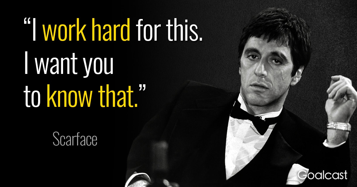 11 Scarface Quotes About Ambition Gone Wrong