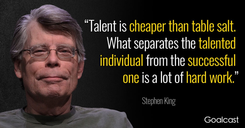 stephen-king-quote-talent-hard-work