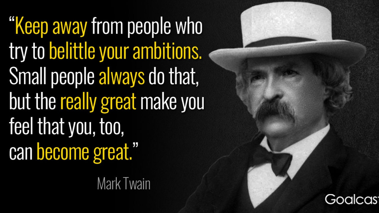 Mark Twain Quotes About Travel, Politics, Education and Love
