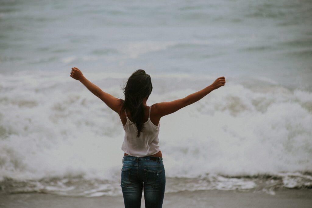 woman-feeling-great
