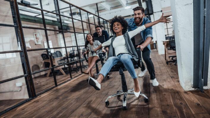 people-having-fun-office