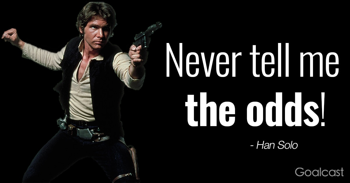 Image result for han solo odds quote