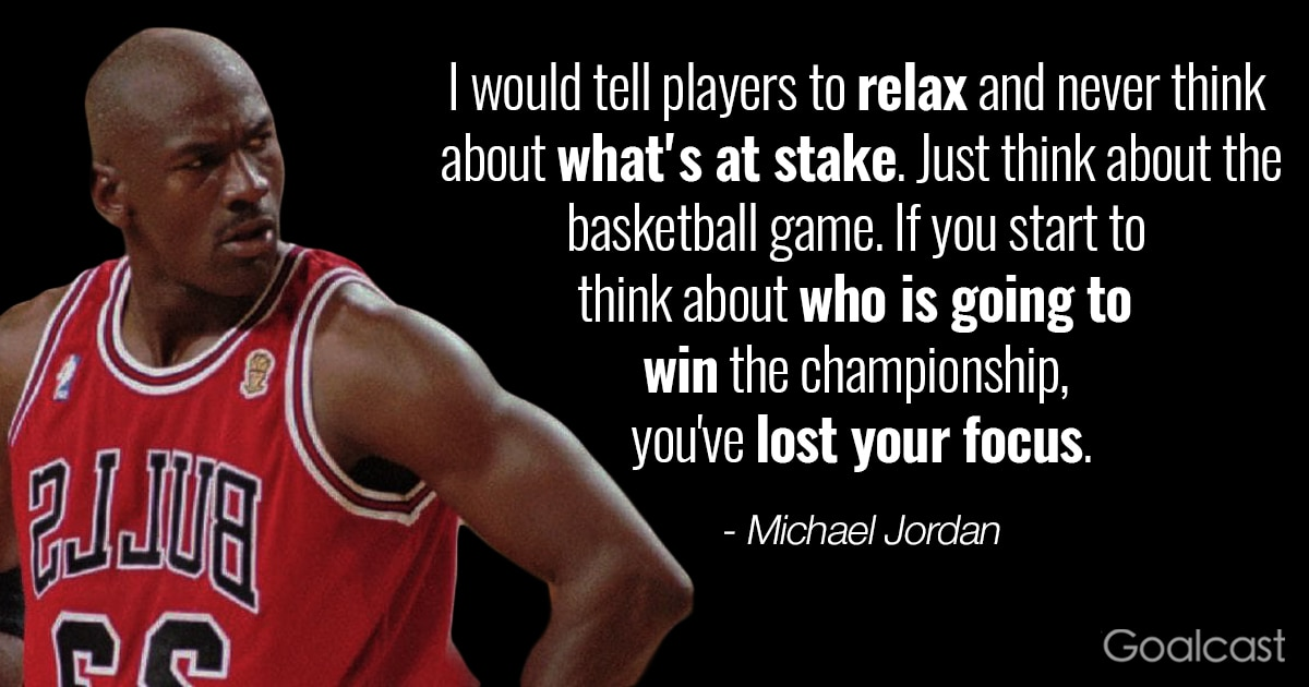 Michael Jordan Quote: Don\'t Worry About Others | Goalcast
