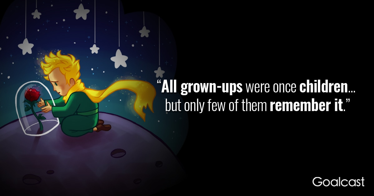 8 Timeless Quotes From The Little Prince: The Little Prince Quote On Grown-ups