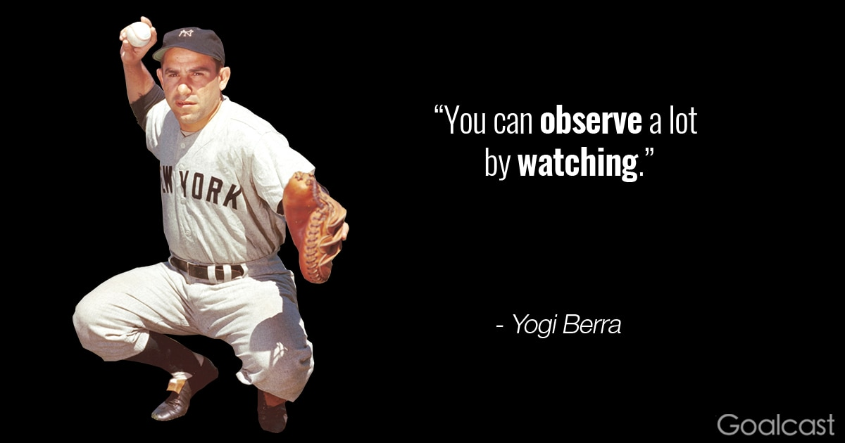 Yogi Berra Quote on Ob...