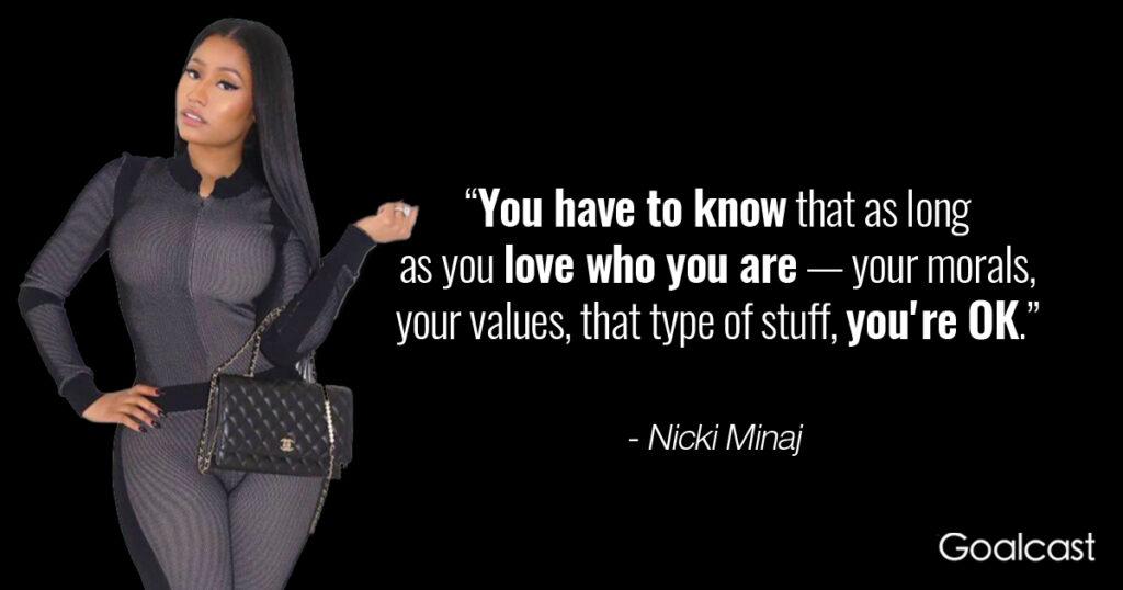 nicki-minaj-quote-self-love-values