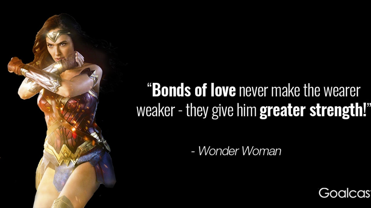 15 Empowering Wonder Woman Quotes to Find your Inner Strength