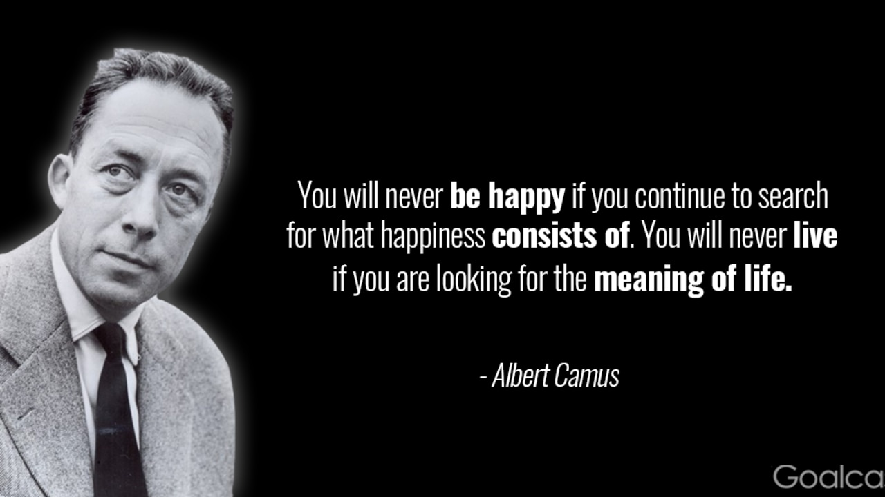 21 Albert Camus Quotes To Help You To Stop Overthinking Your Life