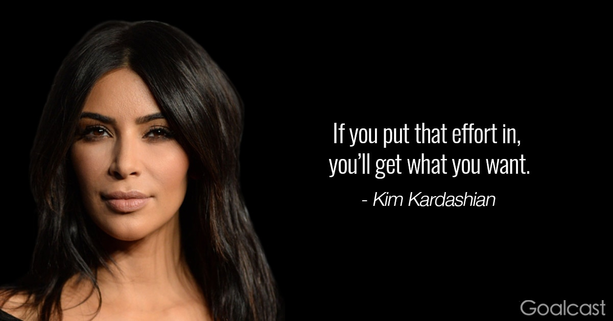 16 Kim Kardashian Quotes To Make You Care Less About What Others Say