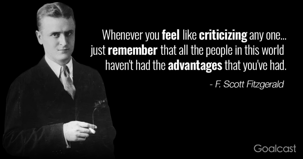 F-Scott-Fitzgerald-on-advantages