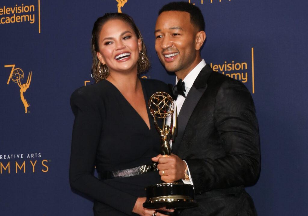 John-Legend-and-Chrissy-Teigen-at-Emmy-Awards
