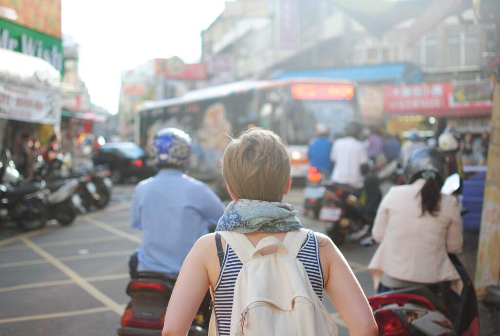 Female-traveler-alone
