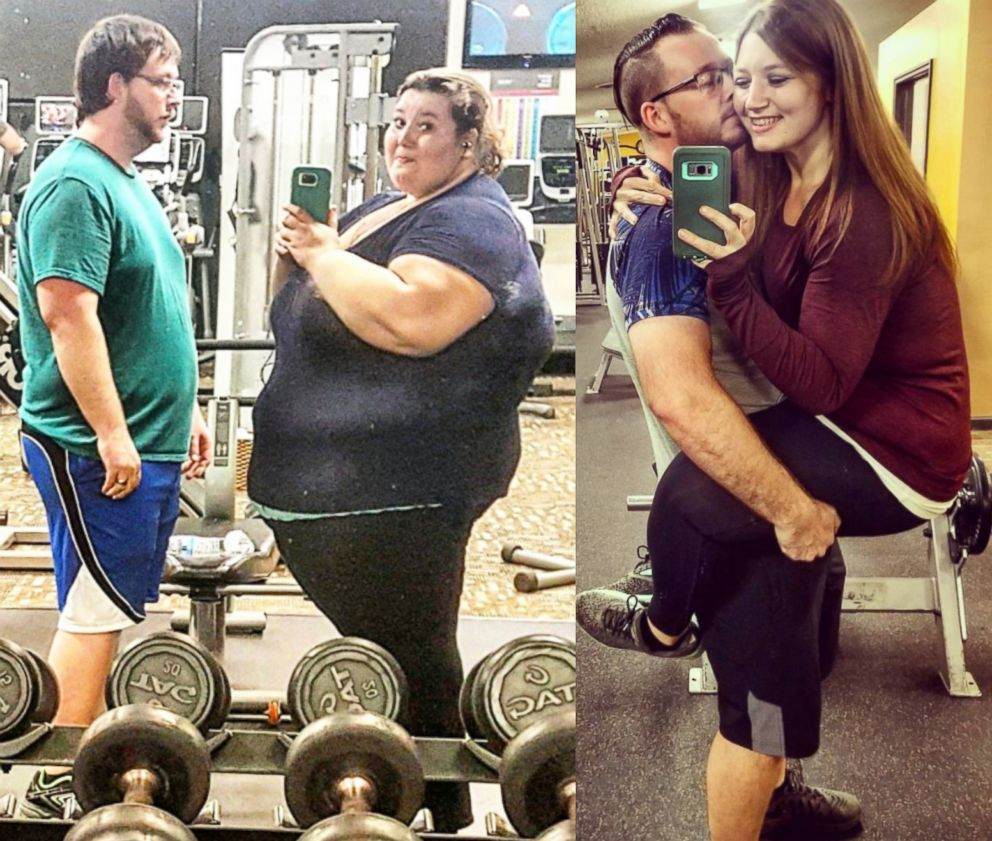 Couple loses 400 pounds in inspirational weight loss