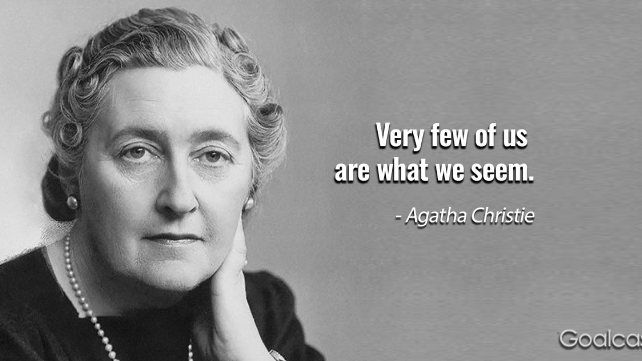20 agatha christie quotes to help you