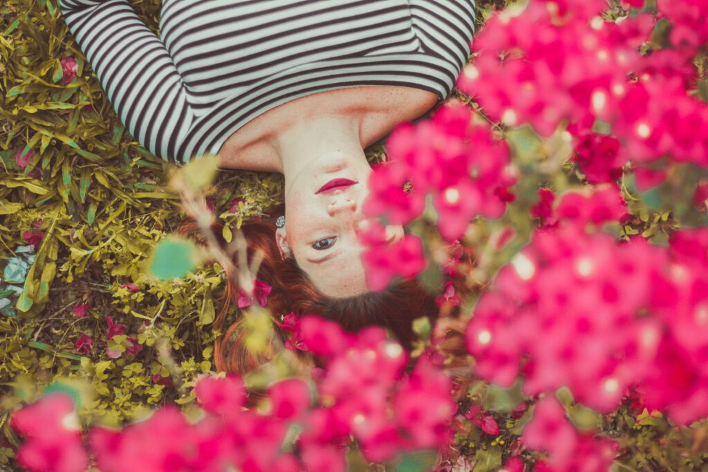Girl-in-flowers