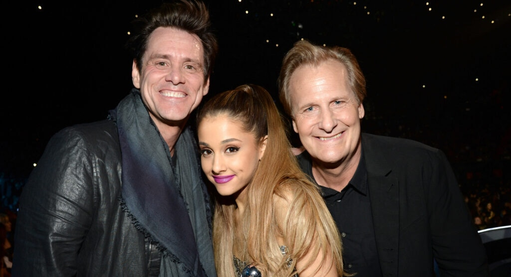 Jim Carrey and Ariana Grande