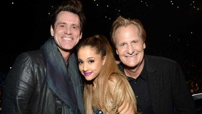Jim Carrey and Ariana Grande