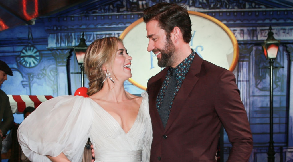 Relationship Goals: John Krasinski and Emily Blunt Show Us That Love at First Sight Does Indeed Exist
