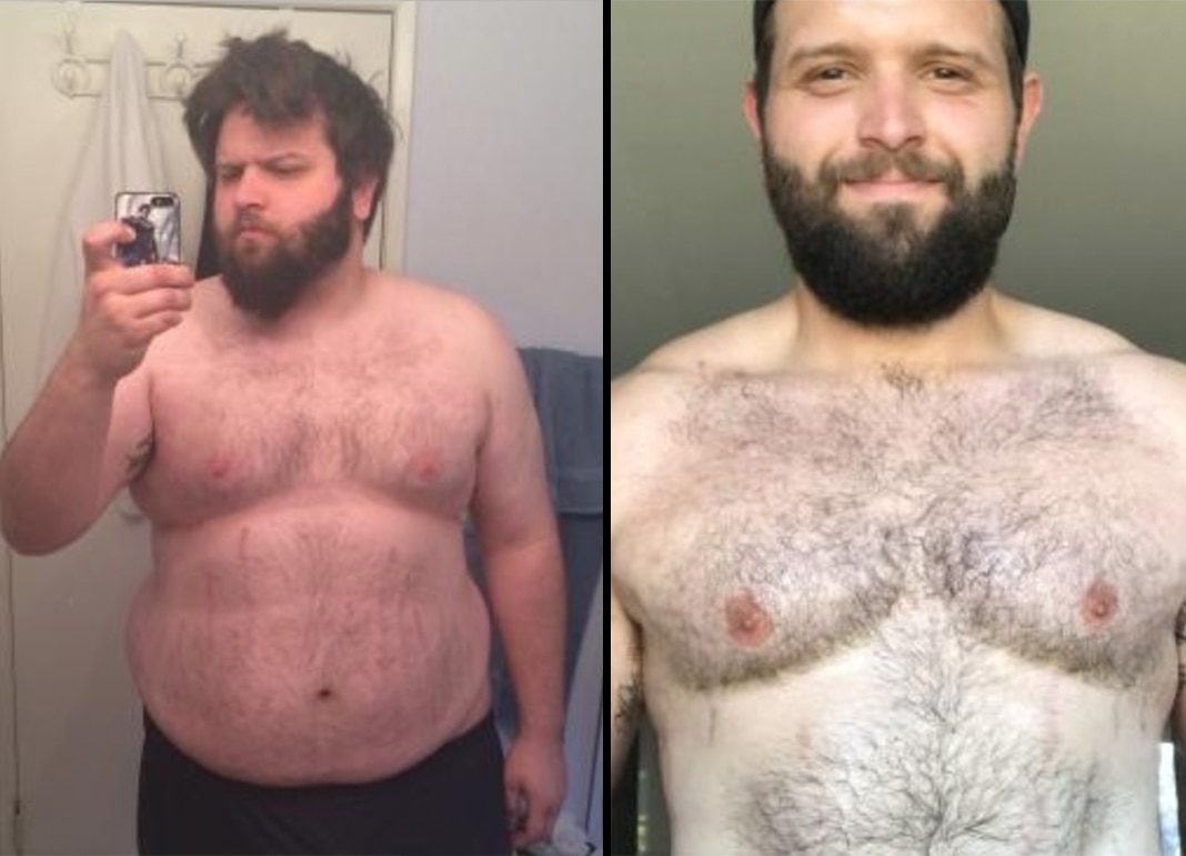 Tenacious Young Man Loses 142 Pounds By Changing His Outlook and Overcoming His Inner Critic