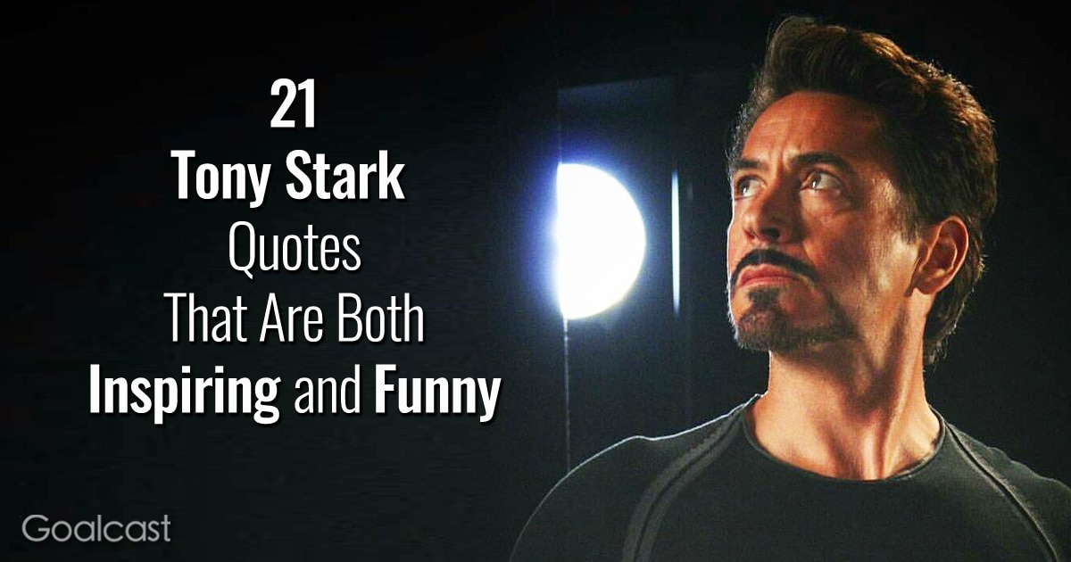 21 Tony Stark Quotes That Are Both Inspirational and Funny