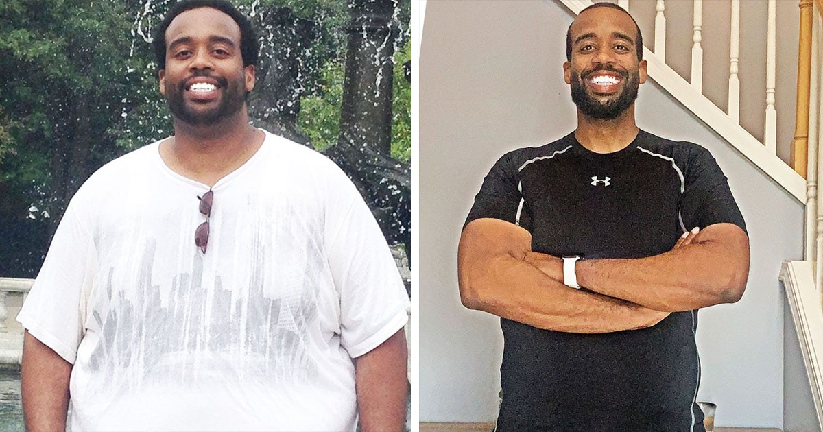 He Lost 110 Pounds by Overcoming Years of Denial and Shifting His Mindset