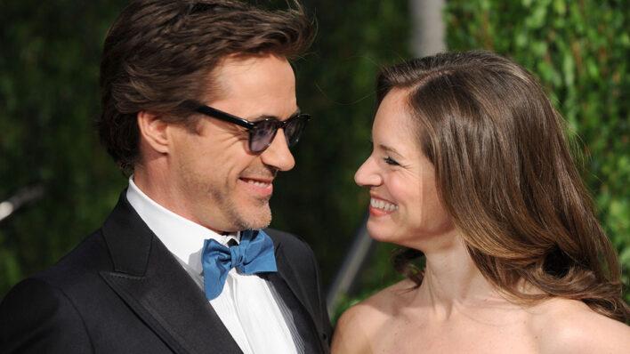 Robert Downey Jr and Susa