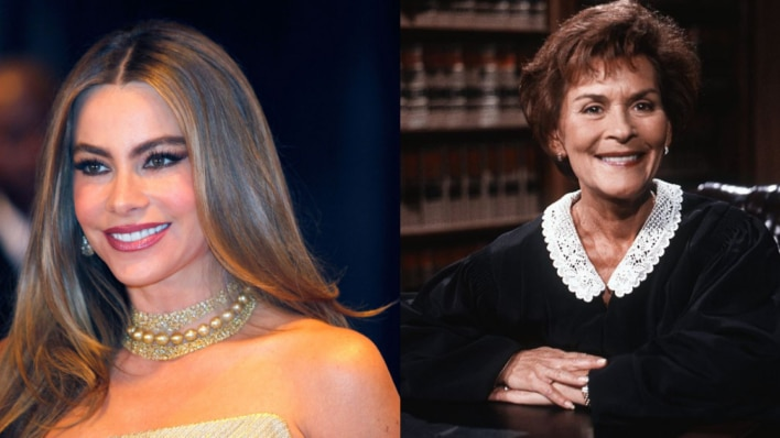 Sofia Vergara and Judge Judy