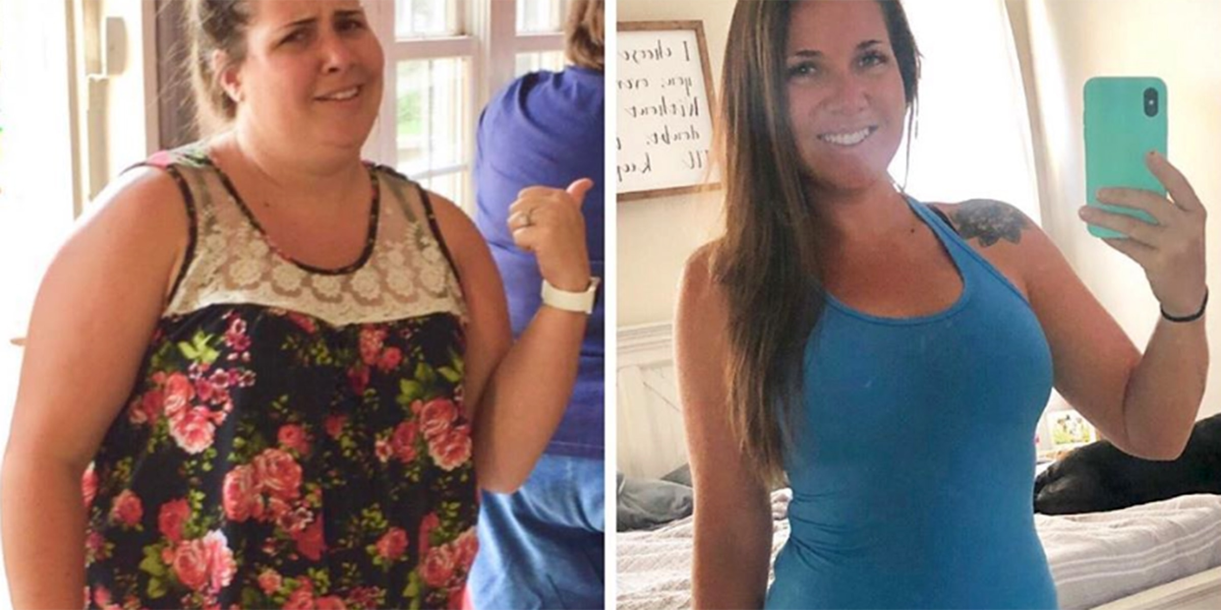 She Lost 100 Pounds in One Year by Discovering Her Willpower