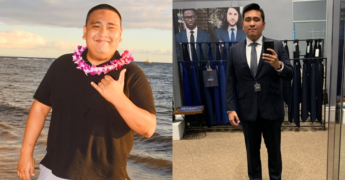 Determined Man Loses Over 100 Pounds by Channeling His Anger as Motivation