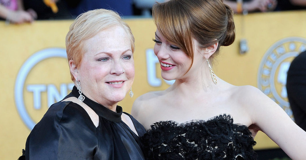 Emma Stone and Mom Krista