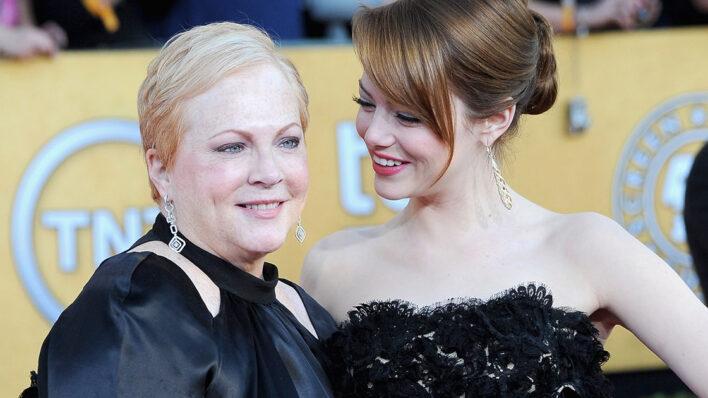 Emma Stone and Mom Krista