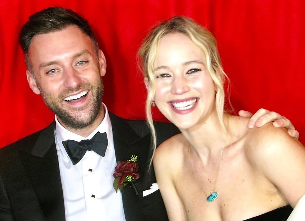 Jennifer Lawrence's Husband Found Her When She Wasn't Looking