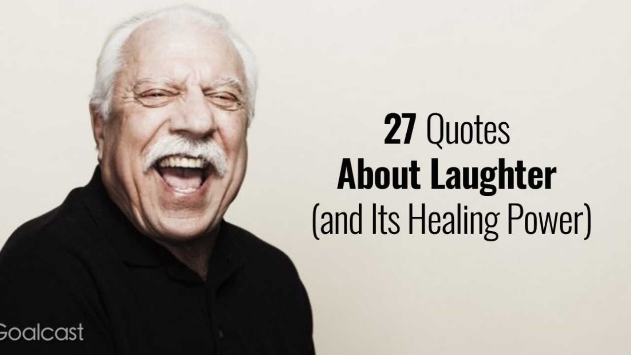 quotes about laughter and its healing power