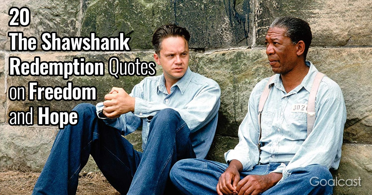 The Shawshank Redemption Quotes option 2
