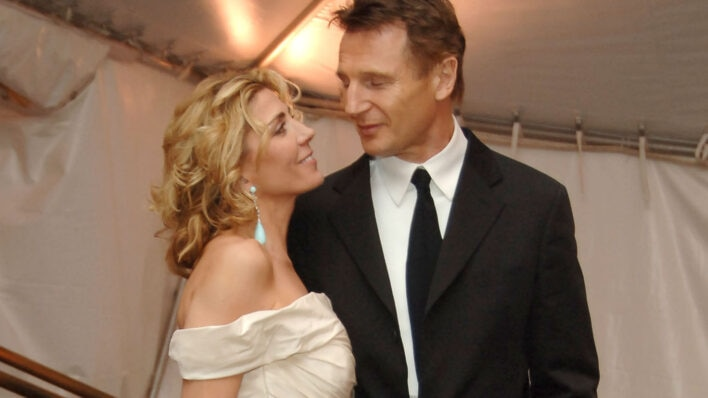 Natasha Richardson and Liam Neeson (Photo by Dimitrios Kambouris/WireImage)
