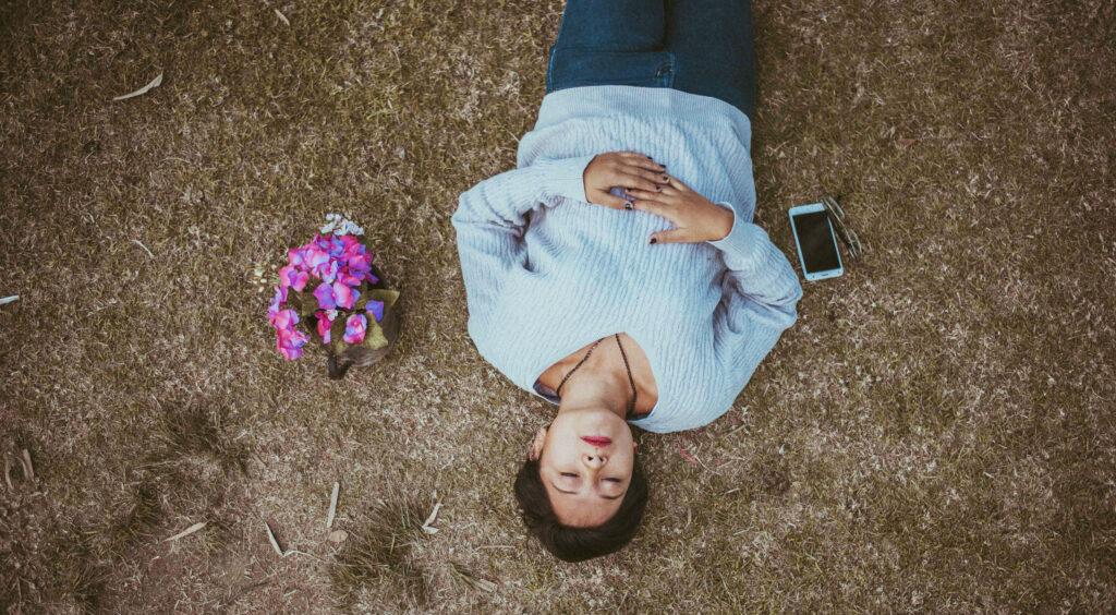 Meditation phone app
