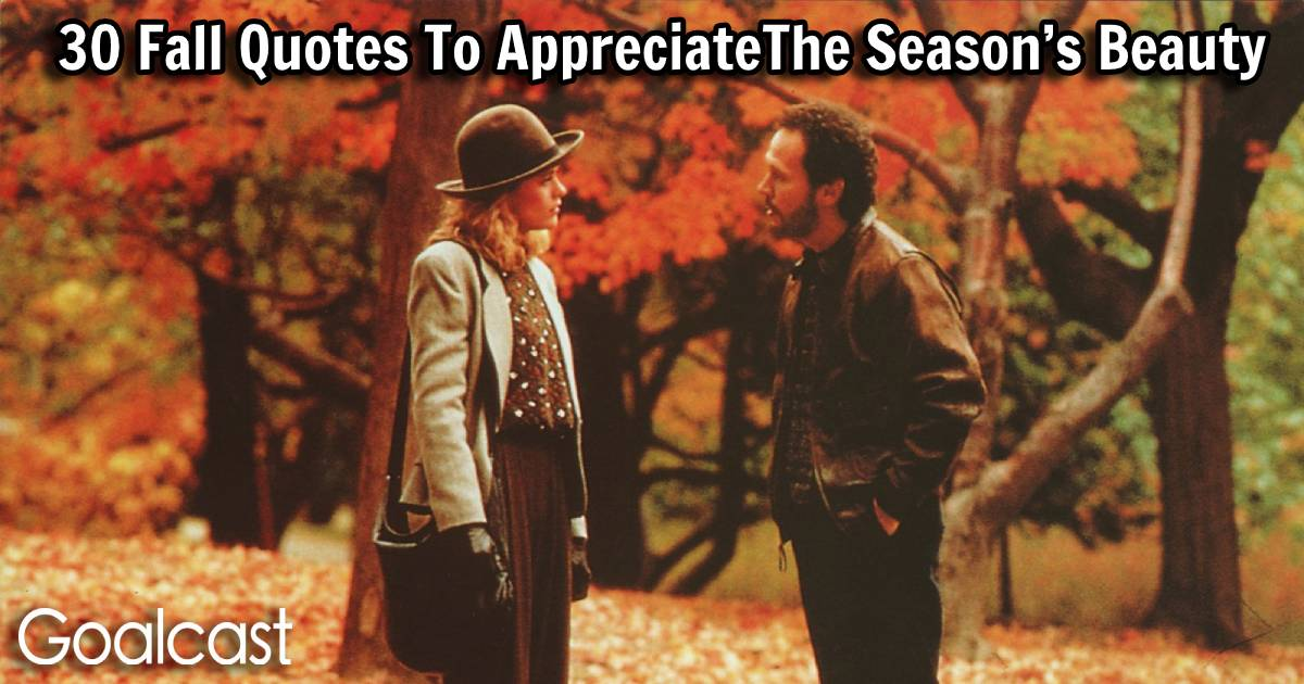 30 Fall Quotes To Appreciate The Season S Beauty Goalcast