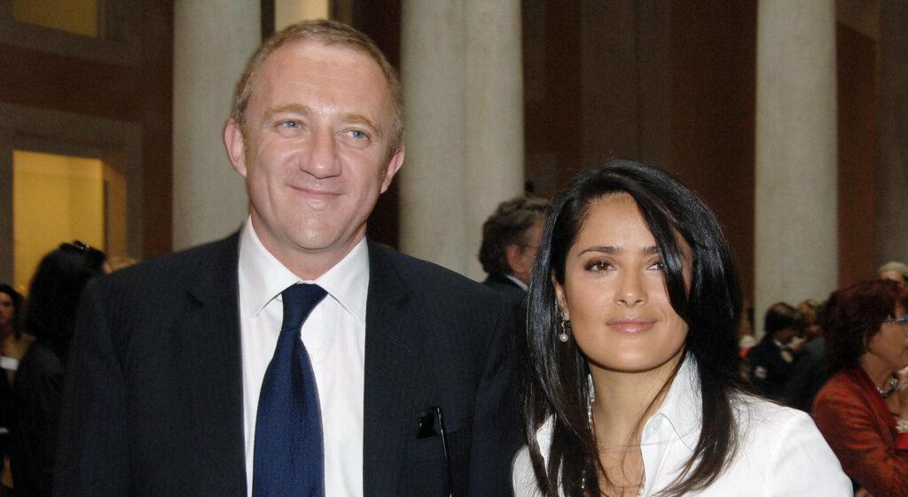 Salma Hayek Husband Francois Henri Pinault