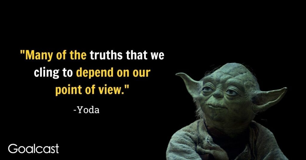 Yoda quotes on commitment and knowledge
