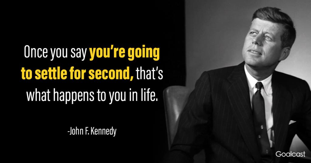 JFK quotes on life