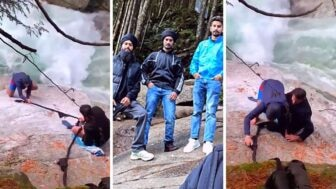 Quick-Thinking Sikh Hikers Use Their Turbans To Create A Rope And Save Man From Falling To His Death